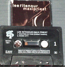 Lee Ritenour ‎Maxi Priest Waiting In Vain CASSETTE SINGLE GRP ‎MCSC1921Soul-Jazz