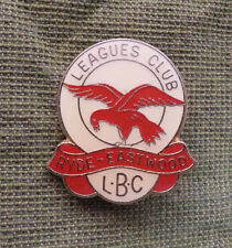 #D277. RYDE EASTWOOD RUGBY LEAGUE LADIES' BOWLING CLUB LAPEL BADGE