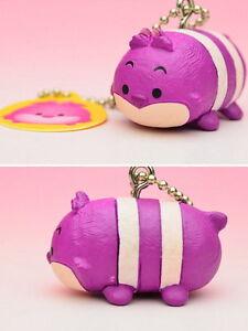 Disney Tsum Tsum Mascot Keychain Figure Alice in Wonderland~ Cheshire Cat @83967