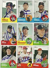 2012 Topps Heritage MATT MOORE Signed Card auto RAYS GIANTS autograph