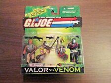 G.I Joe Valor Vs Venom    2003 Hasbro  Duke and  Cobra Commander