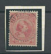 """KLEINrond """"UTRECHT 26-sep- 1894"""" OP 37  CV 3 €"""