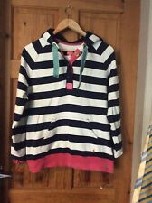 Joules Over Head Sweat Top With Hood Size 12