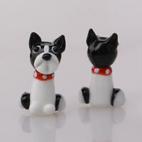 10pcs handmade Lampwork glass  Beads lovely puppy dog for jewelry bracelet make