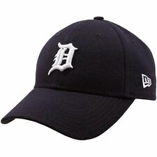 Detroit Tigers MLB Baseball New Era Cap NEU  9forty Kappe Dunkelblau Klett