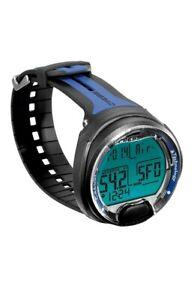 Cressi Leonardo Underwater Single Button Diving Computer #KS770052 Black & Blue