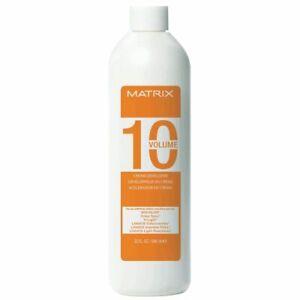Matrix 10 Volume Cream Developer 16 oz. FAST FREE SHIPPING!