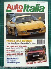 Auto Italia #6 1996 Forza 355 Ferrari LM002 vs Viper Barchetta Maserati BiTurbo