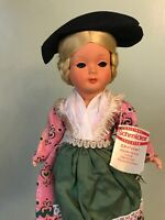 Original Schmider Christel German Vintage Doll with blonde hair and costume