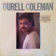 """DURELL COLEMAN S/T LP 1985 NM WITH SHRINK! """"STAR SEARCH"""" WINNER"""
