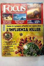 RIVISTA FOCUS N.156 DEL 2005 INFLUENZA KILLER, SISTEMA SOLARE NUOVI PIANETI