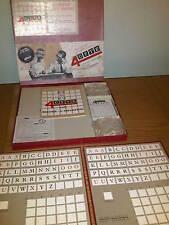 Vintage Old 4CYTE TWINSET TABLE MODEL Word Game - Frank Muir / Denis Norden 1963