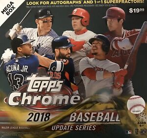 2018 Topps Chrome Update Baseball MINT Complete Your Set Pick Card From List