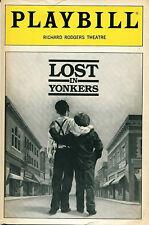 PLAYBILL: Lost in Yonkers (1992) Anne Jackson, Lucie Arnaz, Alan Rosenberg