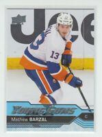 (74861) 2016-17 UPPER DECK YOUNG GUNS MATHEW BARZAL #458 RC