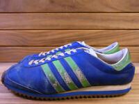 Adidas 70S Condor Kangoran Leather Green Yellowish Original 11 Inches Used Of