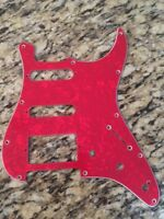 New Red Pearloid 3 S  PickGuard For Fender Stratocaster Guitar three single coil