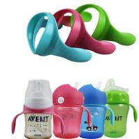Suitr PP Glass Natural For Baby Feeding Bottle Handles Wide Neck