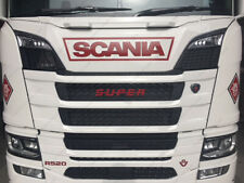 Bolt on 10 Mil Plastic SUPER Badge for Scania S series New Generation