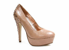 Synthetic Wet look, Shiny Shoes for Women
