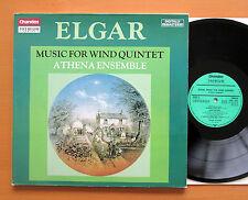 CBR 1014/5 Elgar Complete Music For Wind Quintet Athena Ensemble 2xLP Chandos