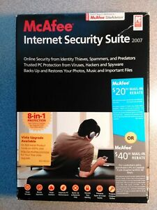 McAfee Internet Security 2007' - 8-in-1 Protection - New Retail Box - Windows