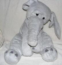 "NEW Manhattan Toy Ragtails Wanda Elephant soft plush floppy 14"" 12"" Gray Chamois"