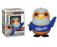 Official NYCC 2020 Sticker Funko Pop Paulie Pigeon Blue Shirt Confirmed Order