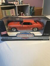 ERTL 1969 Camaro SS396 1:18 Scale Lt Edition Die Model Muscle Car Boxed Mint
