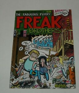 The COLLECTED ADVENTURES of FABULOUS FURRY FREAK BROTHERS RIP OFF PRESS 1980
