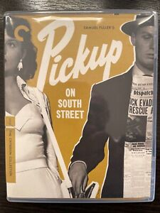 PICKUP ON SOUTH STREET (1953) Region A Criterion Blu-ray + Booklet