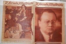 Morte Arnaldo Mussolini Jack Diamond Alcala Zamora Jean Worms Kutepof Testoni