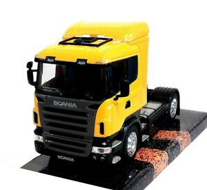 SCANIA R470 4x2 CAB in Yellow - 1:32 Scale Die-Cast Truck Model by Welly - New