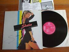 RARE VINYL LP 33T SHEILA JE SUIS COMME TOI 1984 DEDICACE AUTOGRAPHE SIGNED