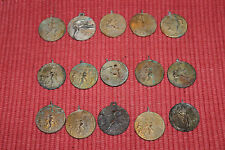 Vintage High School College Sports Award Medals-15 Medals-Track Field-Basketball