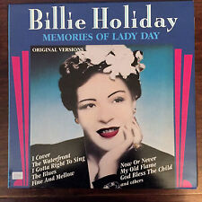 BILLIE HOLIDAY - MEMORIES OF LADY DAY - VINILE