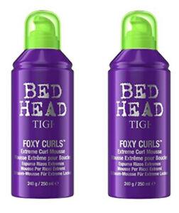Tigi Bed Head Foxy Curls Extreme Curl Mousse 8.45 oz (2 Pack ) $9.99ea