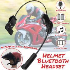 Helmet Headset Speaker Accessory Bluetooth Motorcycle Intercom Interphone Music
