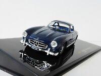 Mercedes-Benz 300 SL 1955 1/43 Ixo CLC245 W198 Flügeltürer 300SL Mercedes BLUE