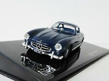 MERCEDES-BENZ 300 SL 1955 1/43 Ixo clc245 W198 DESTRE 300SL MERCEDES Blu