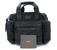 TUMI Brooks Slim Brief Black Briefcase Computer Bag Commuter Laptop