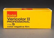 VPS 120 Kodak Vericolor II Medium Format Color Negative/Print Film expired 1982