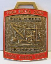 IWFAI Historical Construction Equipment Assoc Crane Pocket Watch Fob 2006 Show
