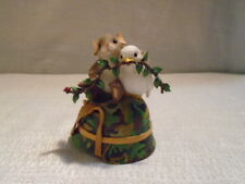 Charming Tails Embrace Peace 98/368 Camo Army USA Patriotic Mouse New In Box