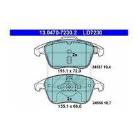 ATE 13.0470-7230.2 Bremsbelagsatz, Scheibenbremse ATE Ceramic   für DS DS5
