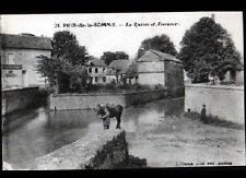 POIX (80) HARAS NATIONAUX , VILLAS & ABREUVOIR animé en 1916