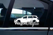WAGON MAFIA auto sticker aufkleber - for  Opel Astra 5 H kombi | tuning