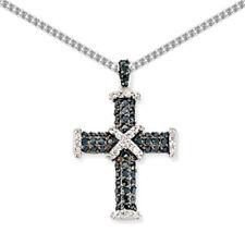 Collares y colgantes de joyería con gemas blancas colgante