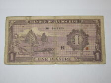 1 Piastre French Indochina (See Photos)