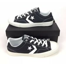 NEW Converse Star Player All Star Ox Low Shoes Sneakers Black White Mens Size 10
